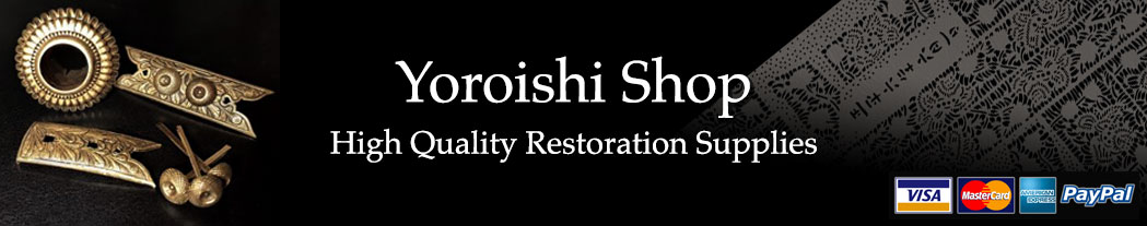 yoroishi-store restoration supplies